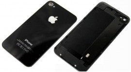 Tapa trasera iPhone 4 Original negra